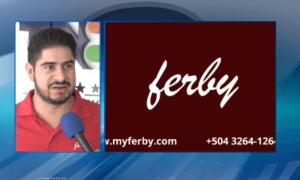 Ferby Entrevista con Canal 8 Sobre Avances en Latino America