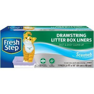Fresh Step-Drawstring Litter box lines