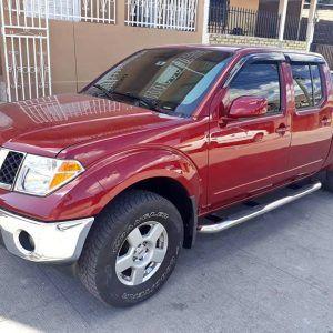 Nissan Frontier 2007 Rojo